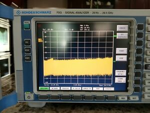 Rohde Schwarz Fsq26 Spectrum signal Analyzer 20 Hz To 26 5 Ghz