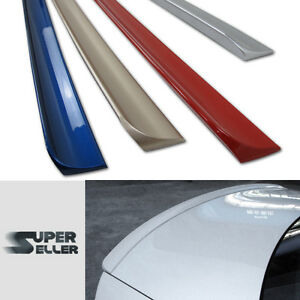 Painted For Lexus Gs300 Gs430 Lip Spoiler Rear Boot Trunk 1c0 Milennium Silver
