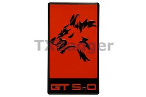Mustang Coyote Gt 5 0 Grille Trunk Badge Emblem Red Txbadger