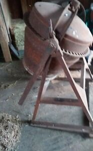 Old Antique Vintage 1930 s Pretty Sure Concrete Cement Mixer Tumbler