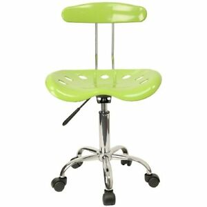 Green Apple Tractor Seat Bar Stool Draft Table Rolling Task Chair Adjustable