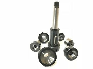 Floating Tailstock Die Holder Set Mt3 Metric With Six Holders