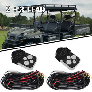 Ca2motor 8ft Power Switch Relay Wiring Harness Kit For Led Light Bar Off road