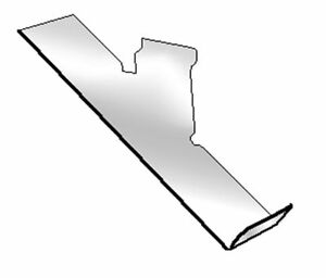 Acrylic Slatwall Shoe Display Fixture Right Profile Clear Lot Of 100 New