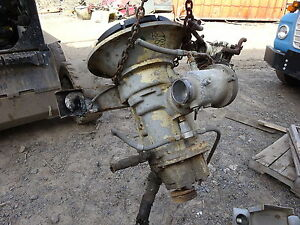 Ingersoll Rand 185 Cfm Air End Airend Compressor Deere Diesel Cast Head