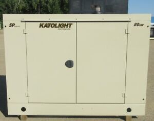 80 Kw Katolight Gm Natural Gas Or Propane Generator Genset Load Tested