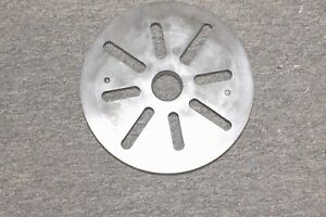 Lathe Face Plate 1 1 2 8 Thread 9 Od Craftsman Logan South Bend Clausing Atlas