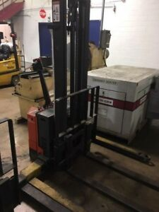Electric Standup Forklift 2 500 Lbs
