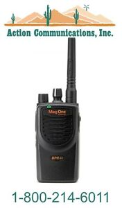 New Motorola Bpr40 Vhf 150 174 Mhz 5 Watt 8 Channel Two way Radio
