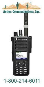 New Motorola Xpr 7550 Vhf 136 174 Mhz 5 Watt 1000 Channel Two Way Radio