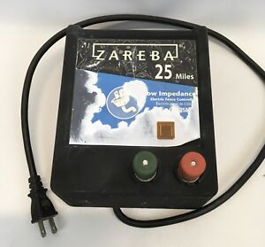 Zareba 25 Mile Low Impedance Electric Fence Controller Model Eac25m z