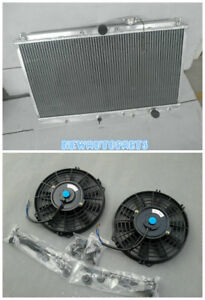 Aluminum Radiator Fans Fits For Honda Prelude 2 2l Mt 1997 2001 98 99 00 01 Ne