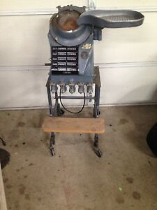 Vintage Standard Johnoson Coin Counting Machine