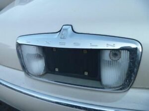 02 Lincoln Town Car License Plate Pocket Tail Panel