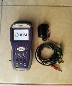 Jdsu Hst 3000 Cable Tester Color Screen W Hst 3000 Sim Module Charger