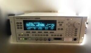 Agilent 83620b 10mhz To 20ghz Swept Signal Generator 001 Hp Synthesized