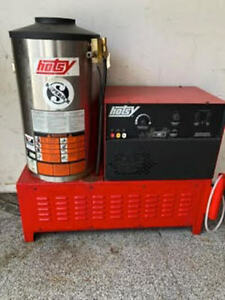 Used Hotsy 1422ss 3ph Natural Gas 4gpm 2000psi Hot Water Pressure Washer