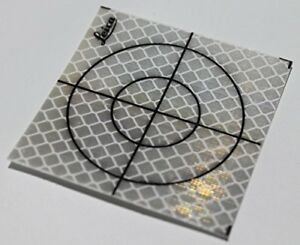 40x40mm Reflective Tape Survey Targets 100 pack
