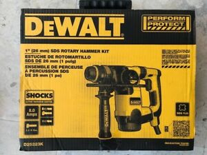 Dewalt D25323k 1 26mm Sds Rotary Hammer Kit