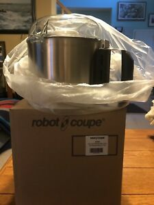 Robot Coupe Stainless Steel Bowl Kit R2dice W Sbatier Blade