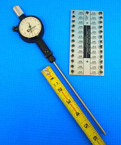 Standard Gage Dial Bore Gage 2 0 246 380 X 0001 For Hole Depth To 6