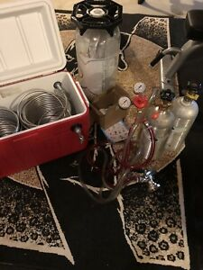 Kegerator Complete Set Up Mint Many Extras