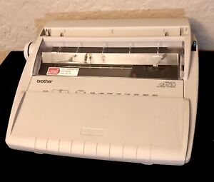 Brother Gx 6750 Daisywheel Portable Electric Typewriter Excellent Used Condition