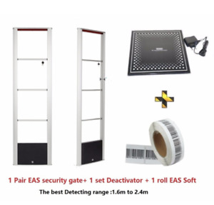 Eas Rf Anti Shoplifting Checkpoint Compatible Security System With Tag