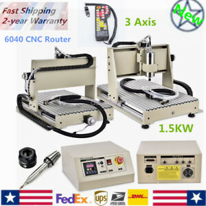 3 Axis 6040 Cnc Router Engraver 1 5kw Engraving Metalworking Machine controller