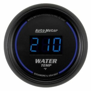 Autometer 6937 Cobalt Digital Water Temperature Gauge