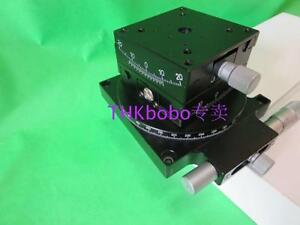 3 axis Rotary Angle Stages Xyz Rotation Table 15 10 360 70 70mm mmt u06zz