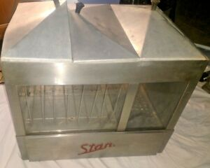 Antique Star Steamro No 172 Commercial Hot Dog Cooker Bun Warmer