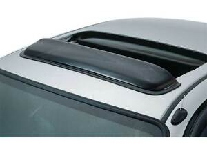 Universal Avs Smoked Classic Sunroof Wind Deflector Windflector Visor 41 5 1pc