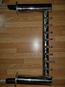 Micro Matic 10 Faucet Metropolis H Beer Tower Glycol Cooled