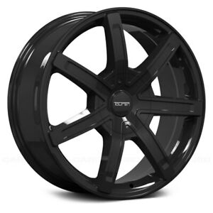 Touren Tr65 3265 Rim 17x7 5 6x135 6x139 7 Offset 20 Black Quantity Of 4