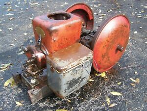 Old Original Fairbanks Morse Dishpan Z Hit Miss Gas Engine Steam Tractor Nice