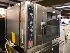 2009 Alto shaam 7 14 Esgs Natural Gas Combitherm Oven Steam Broil Convection