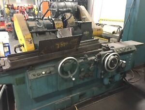 Cincinnati 12 X 36 Plain Cylindrical Od Grinder Just Pulled From Production