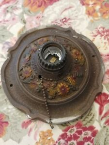 Antique Markel Electric Products Inc Buffalo Ny Ceiling Wall Light Fixture