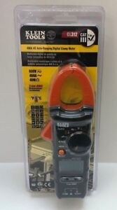 Klein 400a Ac Auto Ranging Digital Clamp Meter For Hvac Electrical Tester Cl312