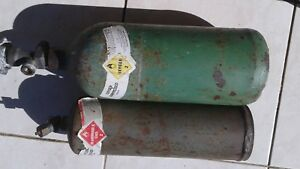 Oxygen Acetylene Cutting Torch Set Of Tanks