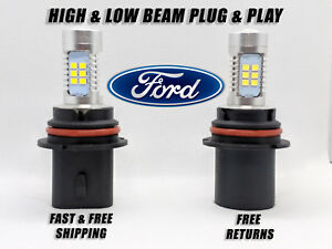 Led Combo Headlight Bulb For Ford Focus 2005 2007 High Low Beam Set Of 2