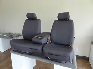Durafit Covers T787 Gray 2000 2004 Toyota Tundra 40 60 Waterproof Seat Covers