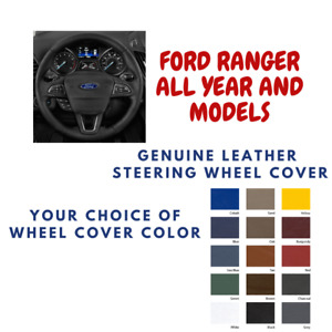 Ford Ranger Wheelskins Leather Steering Wheel Cover Custom Fit Many Colors