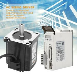 Hss758 Ac Servo Driver With Closed loop High Speed Stepper Servo Motor 4n m