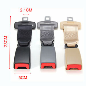 Universal Car Seat Seatbelt Adjustable Safety Belt Extender Extension Buckle 9