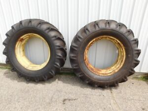 John Deere 620 630 Standard Tractor Speedways 16 9x30 Tires With Rims 03116