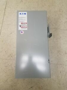 100 Amp 3 Phase Non fused Disconnect Switch Eaton Cutler Hammer Dg323ugb