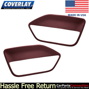 Coverlay Replacement Door Panel Insert Maroon 12 59 mr For Ford Mustang