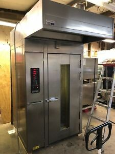 2004 Hobart H0210g1 Natural Gas Single Rack Bakery Oven Baking 175 000 Btu